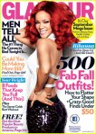 Glamour September 2011 with Rihanna