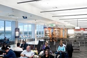 best terminal waiting area