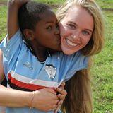 Kristy in Tanzania