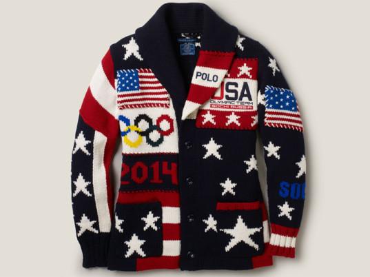 Usa Olympic Sweater Knit 39