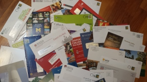 college admissions solicitations